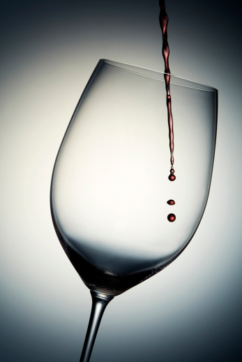 Glass Red Wine